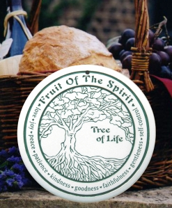Tree of Life bread warmer fruit of the spirit