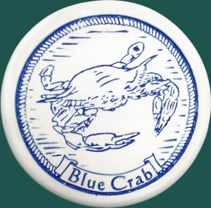 blue crab coaster