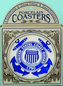 coast guard coasters in box