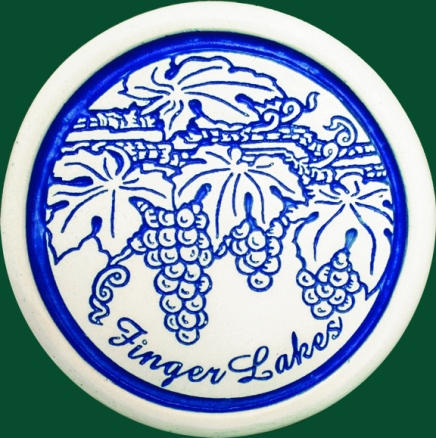 Finger Lakes Grapes Coaster