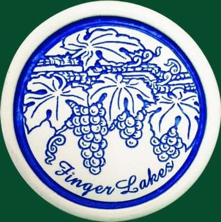 Finger Lakes Grapes Coaster