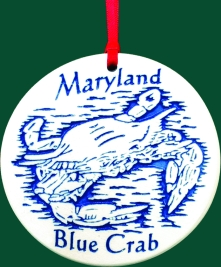 Maryland Blue Crab Ornament