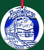Royal Gorge Custom Ornament