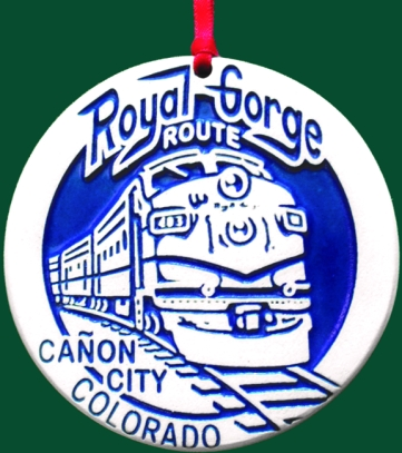 Royal Gorge Custom Ornament