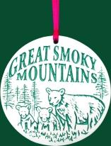 Smoky Mountain Ornament