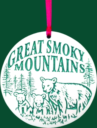 Smoky Mountain Ornament