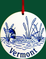 Vermont Loon Ornament