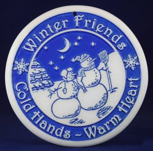 Winter Friends Bread Warmer snowmen