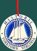 Yorktown Custom Ornament