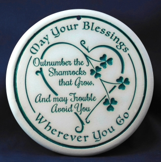 shamrocks bread warmer